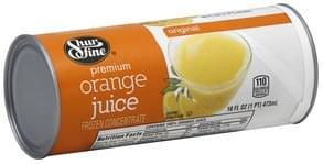 Shurfine Orange Juice Premium, Original