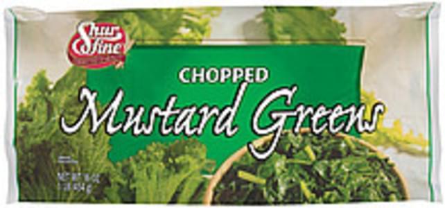 ShurFine Mustard Greens Chopped