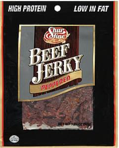 Shurfine Beef Jerky Peppered
