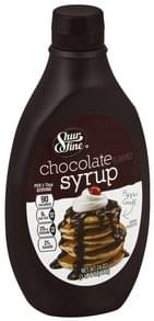 Shurfine Syrup Chocolate Flavored
