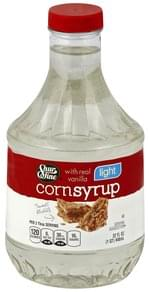 Shurfine Corn Syrup Light, with Real Vanilla