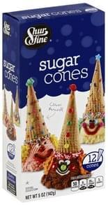 Shurfine Sugar Cones