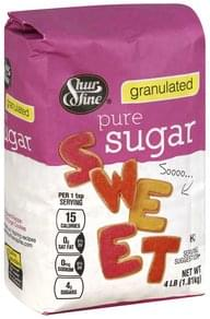 Shurfine Sugar Pure, Granulated