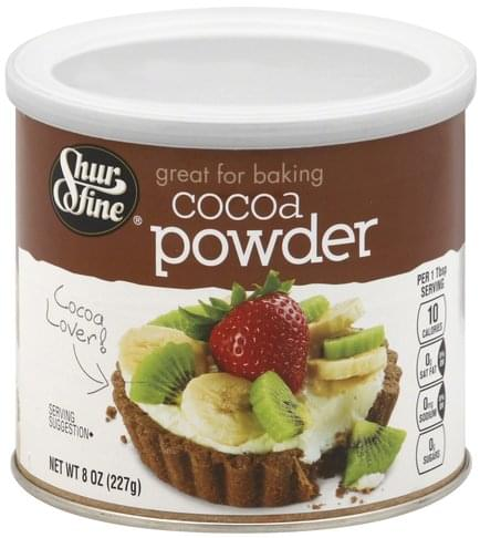 Shurfine Cocoa Powder - 8 oz