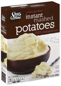 Shurfine Mashed Potatoes Instant