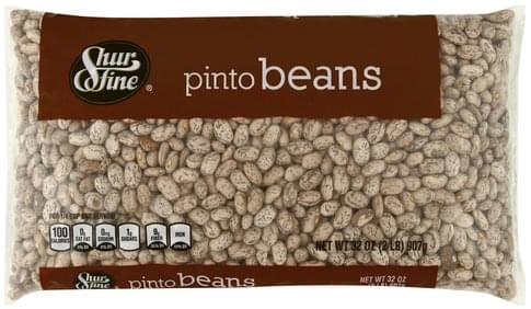 Shurfine Pinto Beans - 32 oz