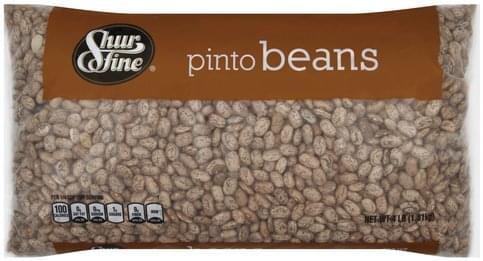 Shurfine Pinto Beans - 4 lb