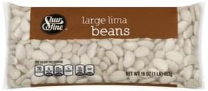 Shurfine Lima Beans Large