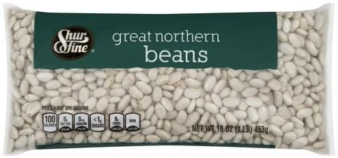 Shurfine Great Northern Beans - 16 oz