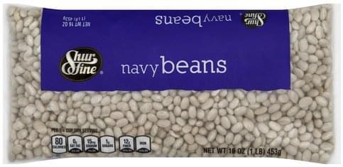 Shurfine Navy Beans - 16 oz
