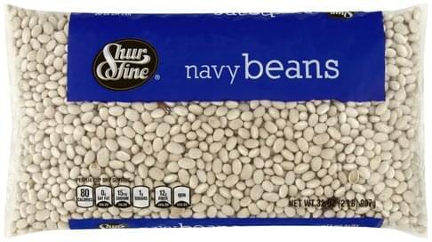 Shurfine Navy Beans - 32 oz
