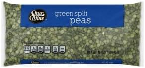 Shurfine Green Split Peas