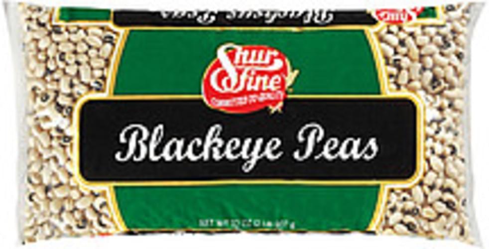 Shurfine Blackeye Peas - 32 oz
