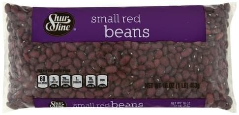 Shurfine Small Red Beans - 16 oz