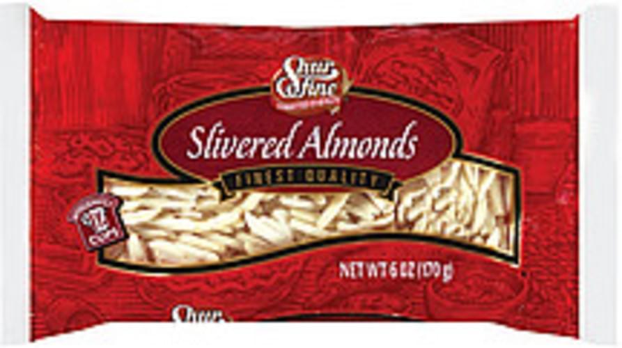 Shurfine Slivered Almonds - 6 oz
