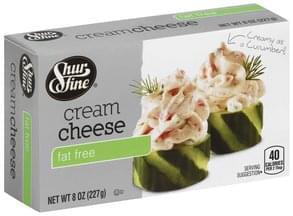 Shurfine Cream Cheese Fat Free