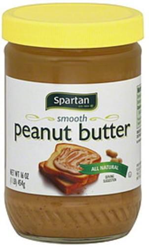 Spartan Smooth Peanut Butter - 16 oz