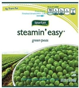 Spartan Green Peas