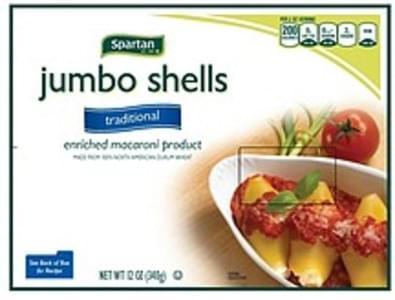 Spartan Shells Jumbo, Traditional