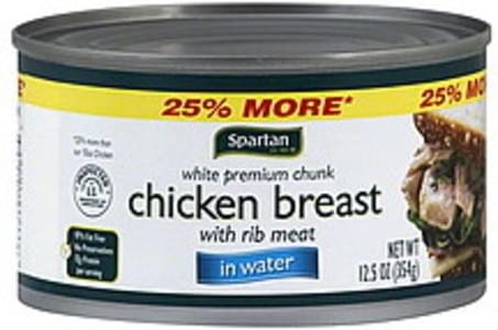 Spartan Chicken Breast White Premium Chunk, in Water