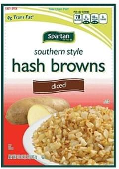 Spartan Hash Browns Southern Style, Diced