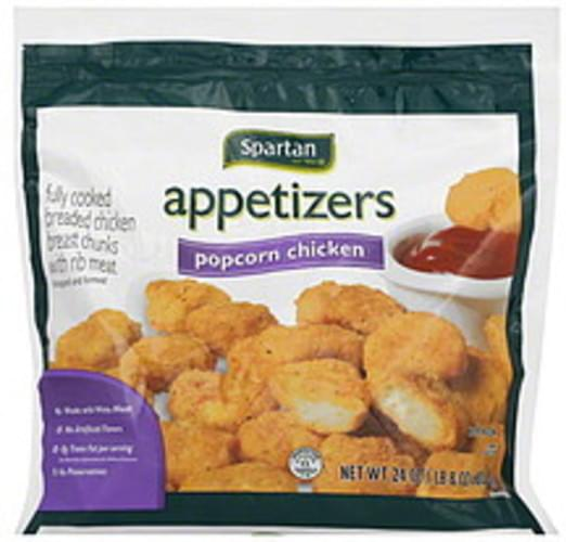 Spartan Popcorn Chicken Appetizers - 24 oz