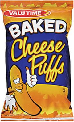Valu Time Cheese Puffs Baked