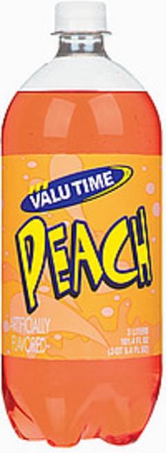 Valu Time Soda Peach