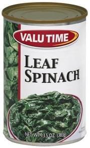 Valu Time Leaf Spinach