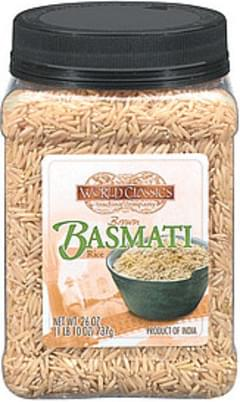 World Classics Trading Company Rice Brown Basmati
