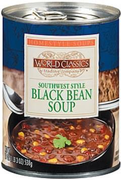World Classics Trading Company Soup Southwest Style Black Bean