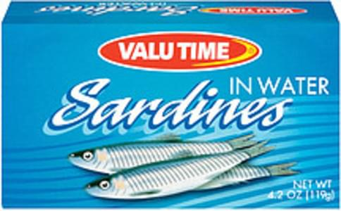 Valu Time Sardines In Water
