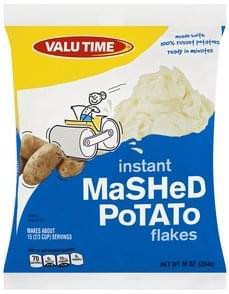 Valu Time Mashed Potato Flakes Instant