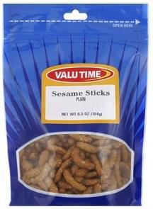 Valu Time Sesame Sticks Plain