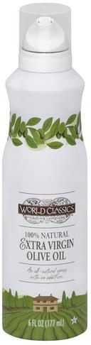 World Classics Extra Virgin, Spray Olive Oil - 6 oz