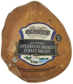 World Classics Turkey Breast Applewood Smoked