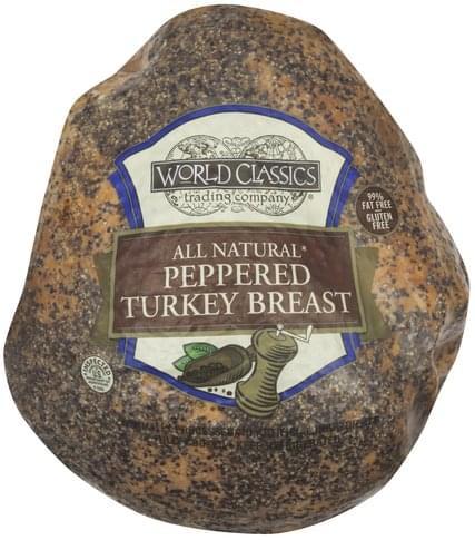 World Classics Peppered Turkey Breast - 1 ea