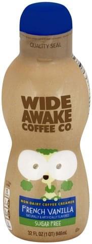 Wide Awake Coffee Co Non-Dairy, Sugar