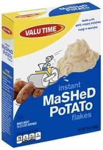 Valu Time Mashed Potato Flakes, Instant