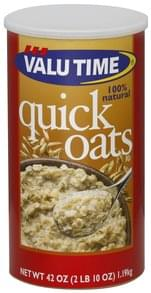 Valu Time Oats Quick