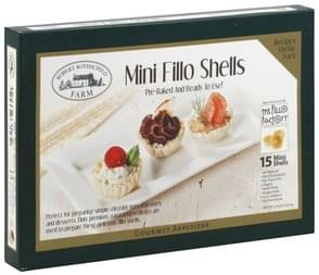 Robert Rothschild Farm Fillo Shells Mini