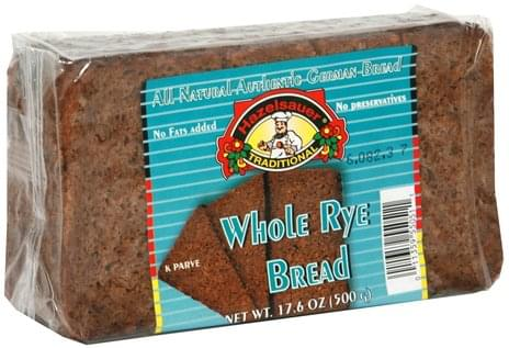 Hazelsauer Whole Rye Bread - 17.6 oz
