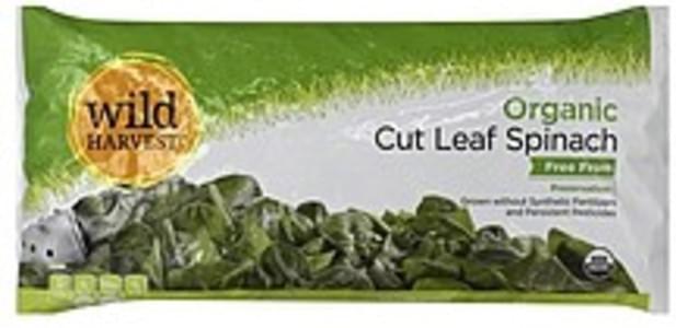 Wild Harvest Spinach Organic, Cut Leaf