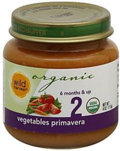 Wild Harvest Vegetable Primavera 2 (6 Months & Up)