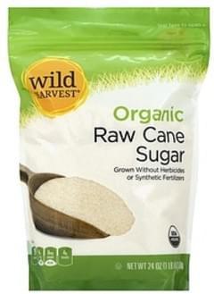 Wild Harvest Cane Sugar Organic, Raw