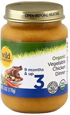 Wild Harvest Vegetable Chicken Dinner 3 (9 Months & Up)