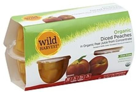 Wild Harvest Diced Peaches Organic