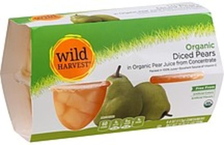 Wild Harvest Organic, Diced Pears - 4 ea