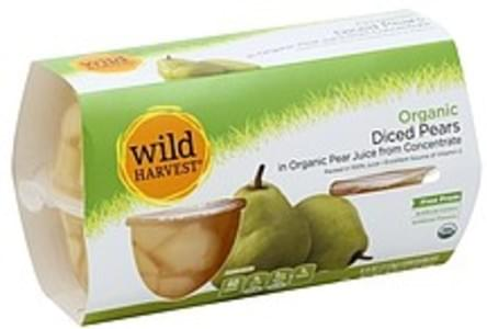 Wild Harvest Pears Organic, Diced, in Organic Pear Juice from Concentrate