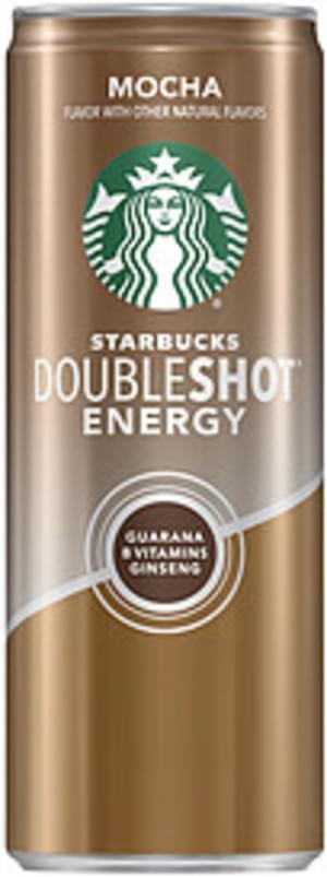 Starbucks Doubleshot Doubleshot Mocha Energy Doubleshot